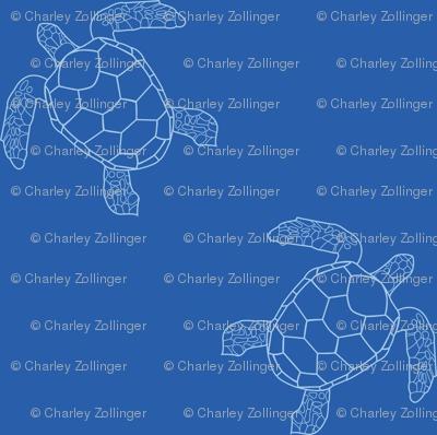 Dark Blue Turtles