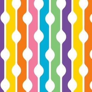 1960s Bubble Stripes