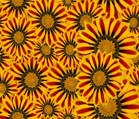 FALL FLOWERS fabric by bluevelvet on Spoonflower - custom fabric