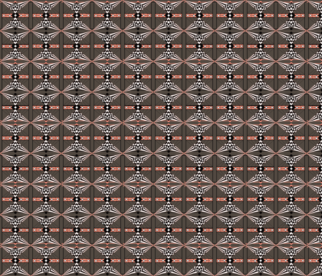 Deco Check- Grayish fabric by noelle_mckown on Spoonflower - custom fabric
