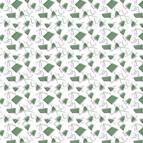 PiexSu Pinup Pulli green