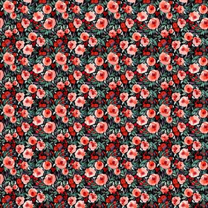 Indy bloom Design Winter berry blossom Black A