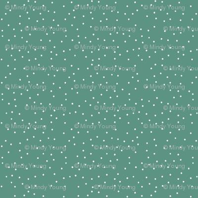Indy Bloom Design Winter Green Snow B