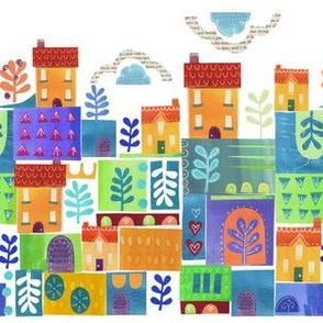 patchwork street