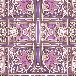 A Posse of Purple Posies