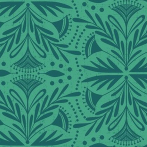 Lenox - Damask Green & Teal