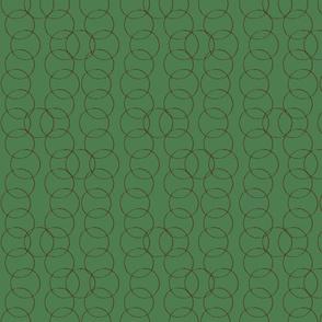 Coffee Rings in Green Bucks