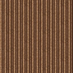 CD26  - Mini Beige Sparkle and Brown Stripe