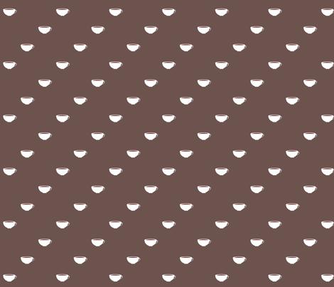 Diagonal Cups in Java fabric by kae50 on Spoonflower - custom fabric