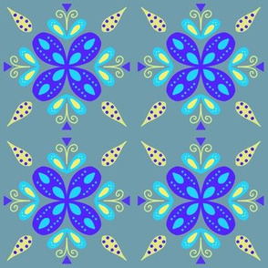 Folksy flower 2