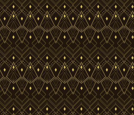 Deco Diamonds  fabric by svaeth on Spoonflower - custom fabric