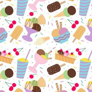 Ice Cream Party in color