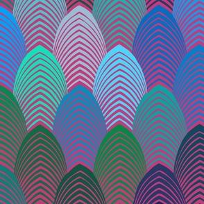 Roaring 20s Jazz Note - Pink & Blue