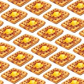 Waffles - White