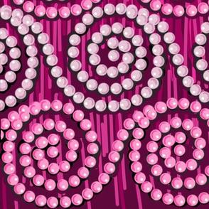 Pearl Swirls on  Fringe