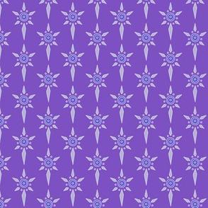 Shield Emblem for Blue & Purple Colorway