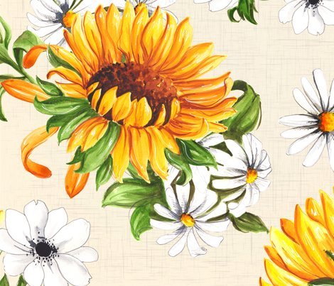 Sunflowers_beige_shop_preview