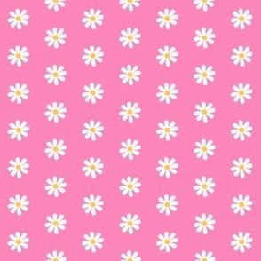 Chubby not -a-  Bunny  Pink/yellow/ white Daisy