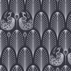 1920s Peacock