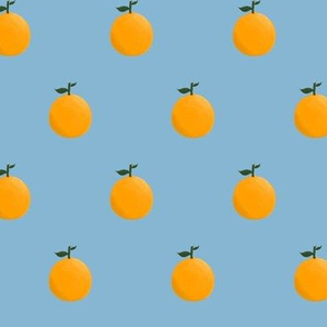 Orange ya glad? - Dusty Blue