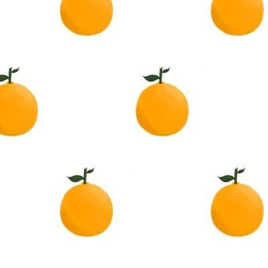 Orange ya glad? - White
