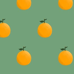 Orange ya glad? - Forest Green