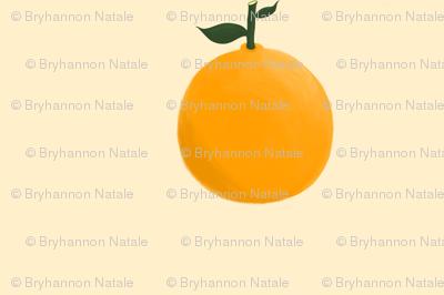 Orange ya glad? - Yellow/Cream