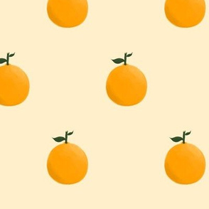 Orange ya glad? - Yellow/Cream