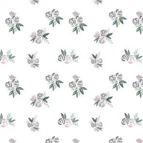 Purple Granny Florals