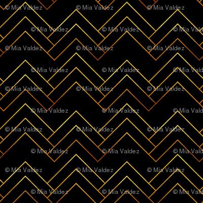 Art Deco Chevron Lines_Bg Black
