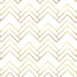 Art Deco Chevron Lines_Bg White
