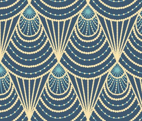 Art deco fabric by sveta_aho on Spoonflower - custom fabric