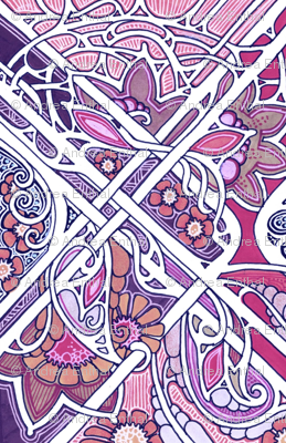 Creeping Violet Underbrush