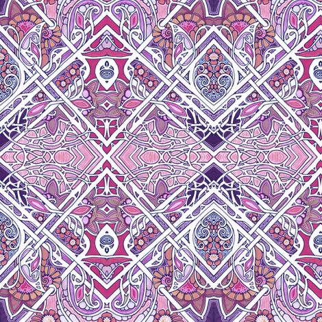 Creeping Violet Underbrush fabric by edsel2084 on Spoonflower - custom fabric
