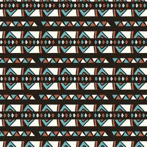Hand Drawn Ethnic Patterns Stripes