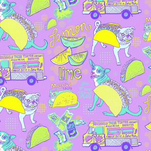 Let's Get Some Tacos! in Lilac