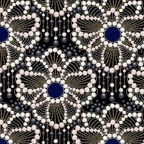 Anemone Art-deco Brooch (smaller)