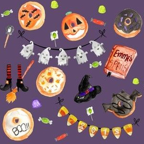Halloween Witches Brew Donuts