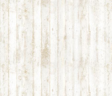 Creamy Whitewashed wood fabric by lissad on Spoonflower - custom fabric