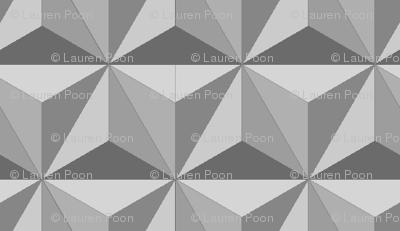 hexadidnt grey  (repeating)