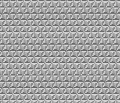 hexadidnt grey  (repeating) fabric by thepoonapple on Spoonflower - custom fabric