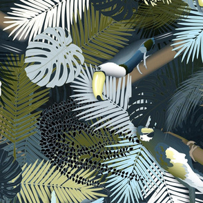 Tropical Toucan (ColorEKET) Vertical