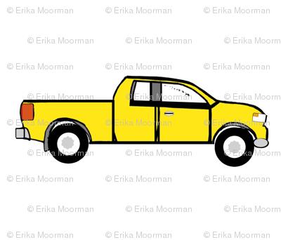 pickup MED 4 - yellow