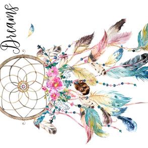 "36""x54"" Sweet Dreams Dreamcatcher"