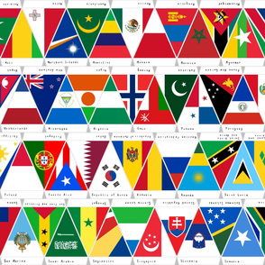 Flags of the World Maldives to South Africa