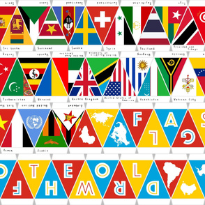 Flags of the World Spain to Zimbabwe