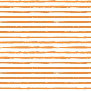 Small Scale Painted Orange Stripes