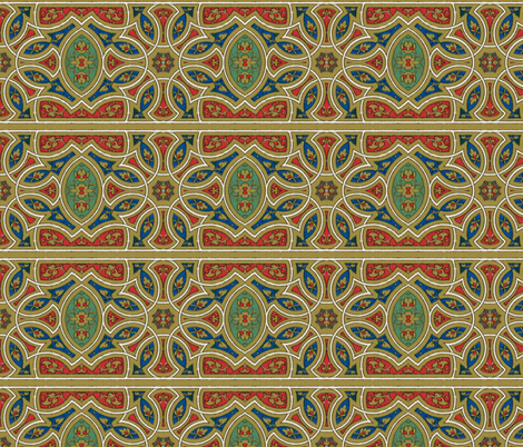 arabesque 121 fabric by hypersphere on Spoonflower - custom fabric