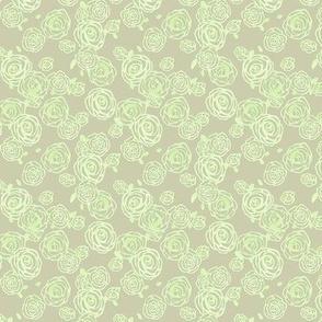 Little greenie Roses