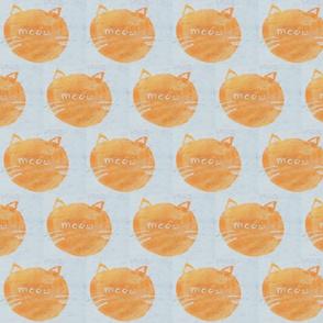 Orange Cat Meow